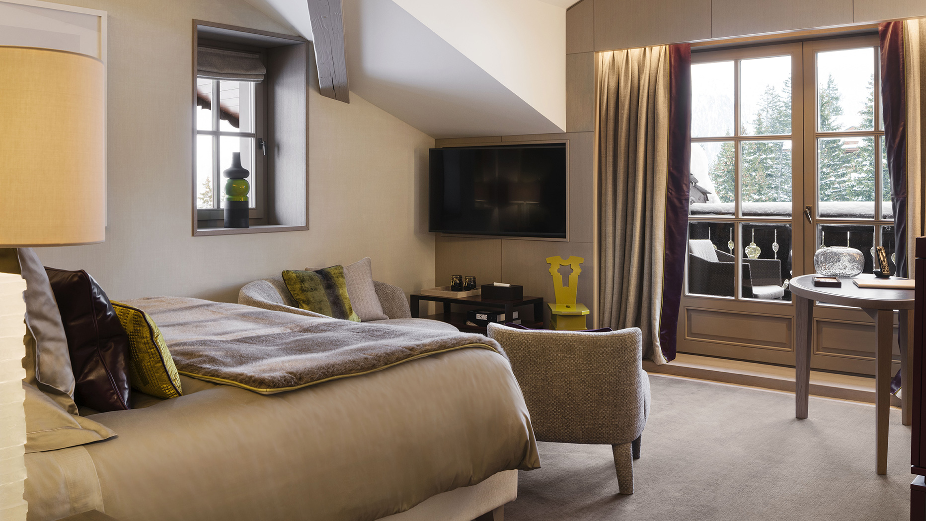 Rooms, Cheval Blanc, Courchevel 1850, France