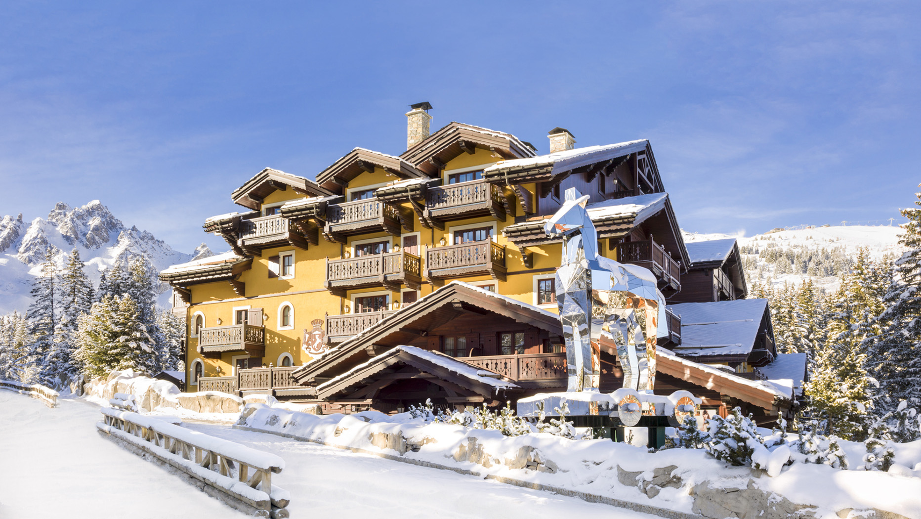 Cheval Blanc, Courchevel 1850, France