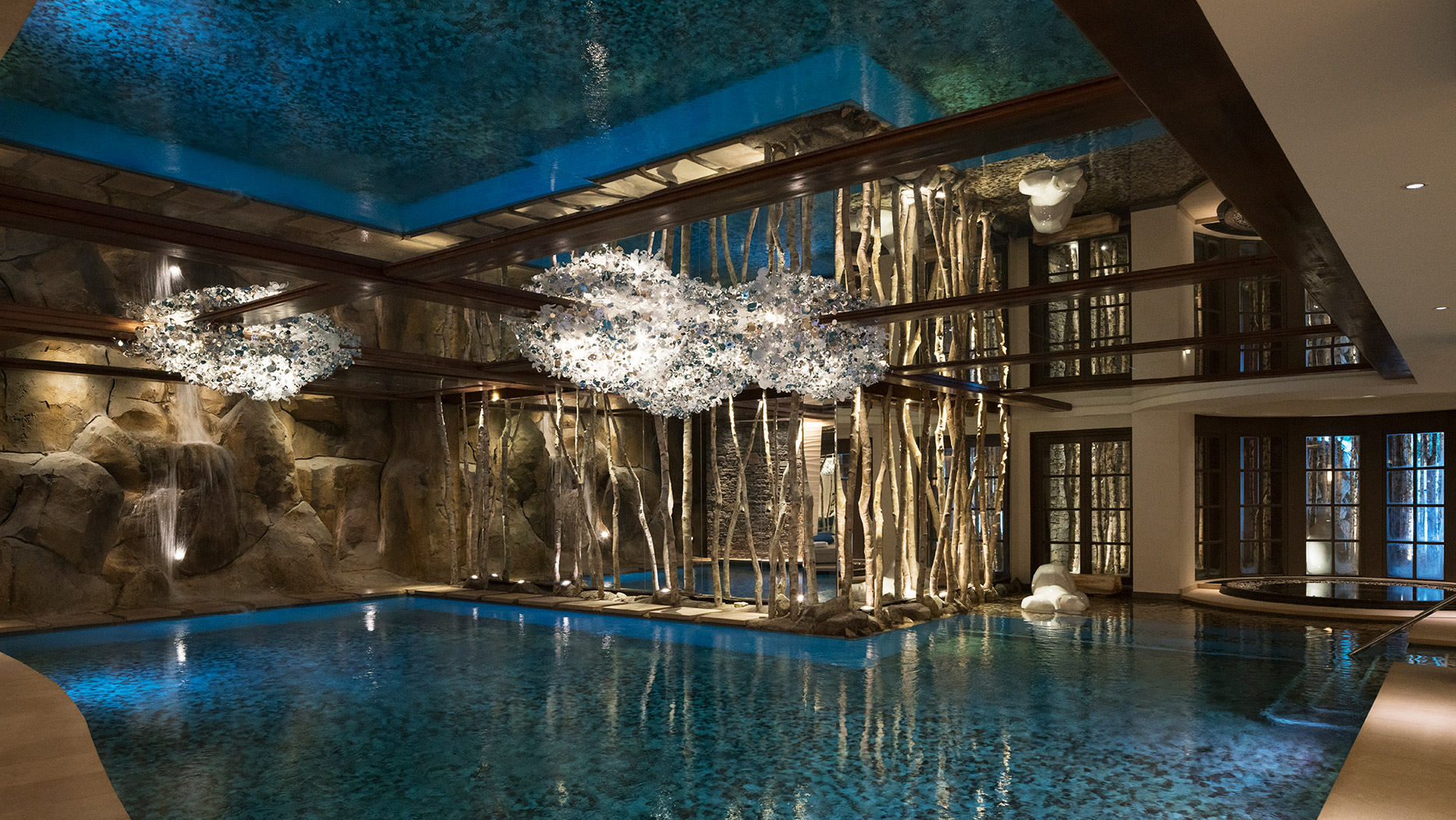 Pool, Cheval Blanc, Courchevel 1850, France