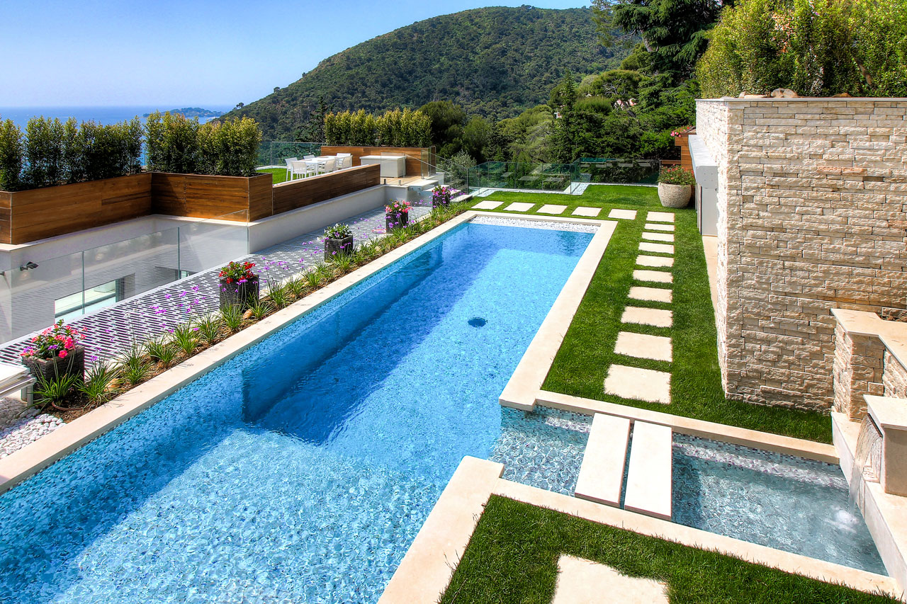 Villa La Mer, Eze, French Riviera, France