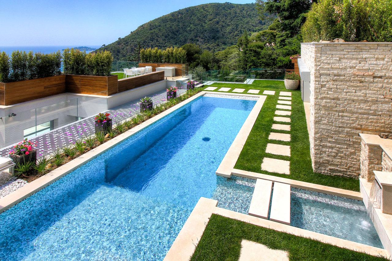 Villa La Mer, Eze, Côte d'Azur, France