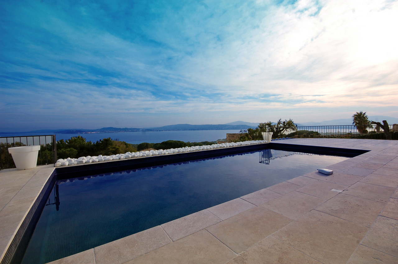 Villa for rent in the Bay of Saint-Tropez