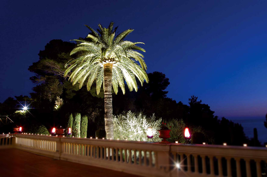 Villa La Vigie, Monaco by Night