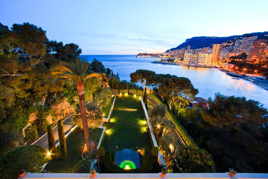 Villa La Vigie, Monaco la Nuit