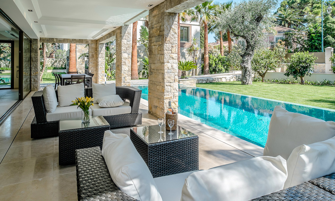 Domaine des Trois Villas, Saint-Jean Cap Ferrat Villa for Rent, French Riviera, France