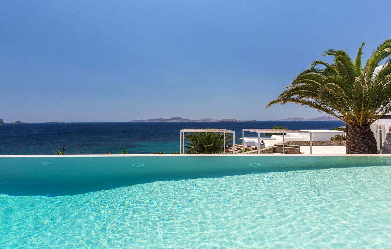 Villas Kerethium & Astarte, Agios Ioannis Beach, Mykonos, Greece