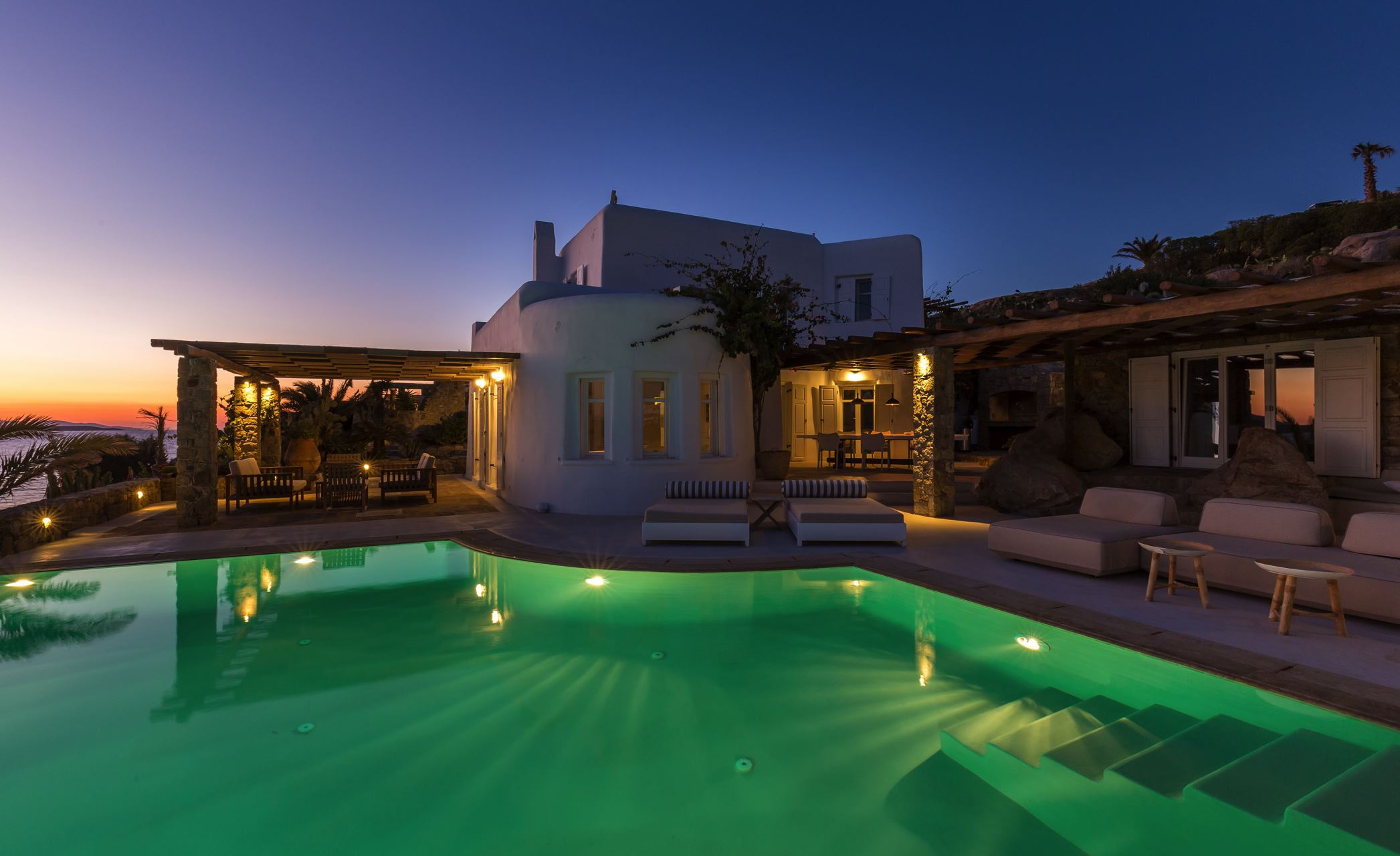 Villa Kymothoe, Mykonos, Greece