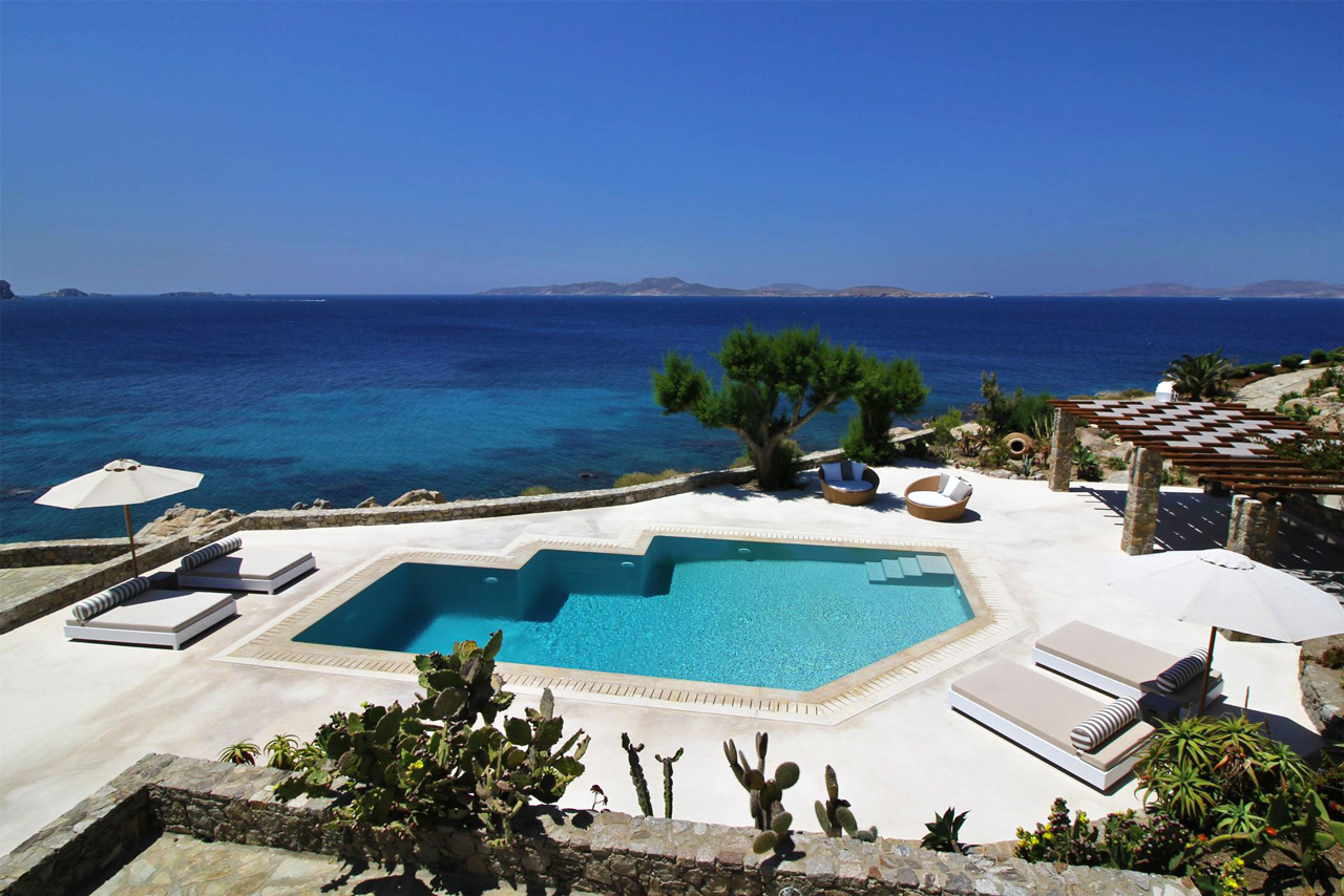 Villa Neptunea, Agios Ioannis Beach, Mykonos, Greece