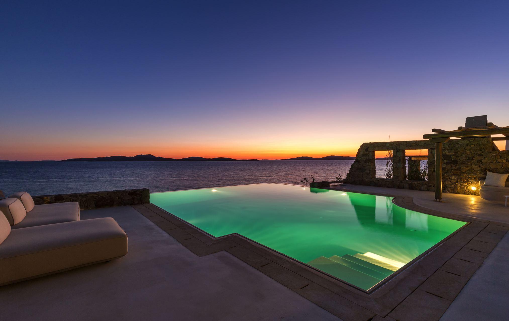 Villa Okyroe, Agios Ioannis Beach, Mykonos, Greece