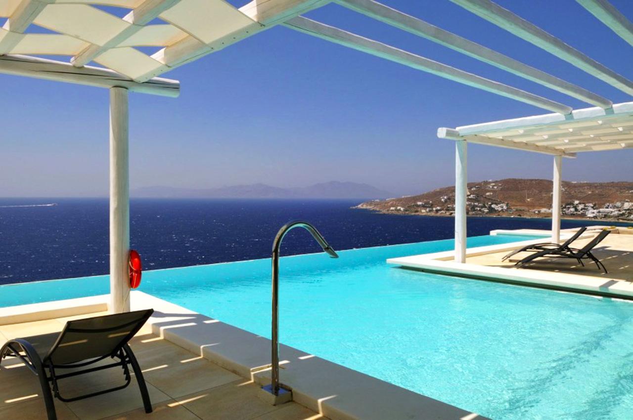 Villa Omega, Aleomandra, Mykonos, Greece