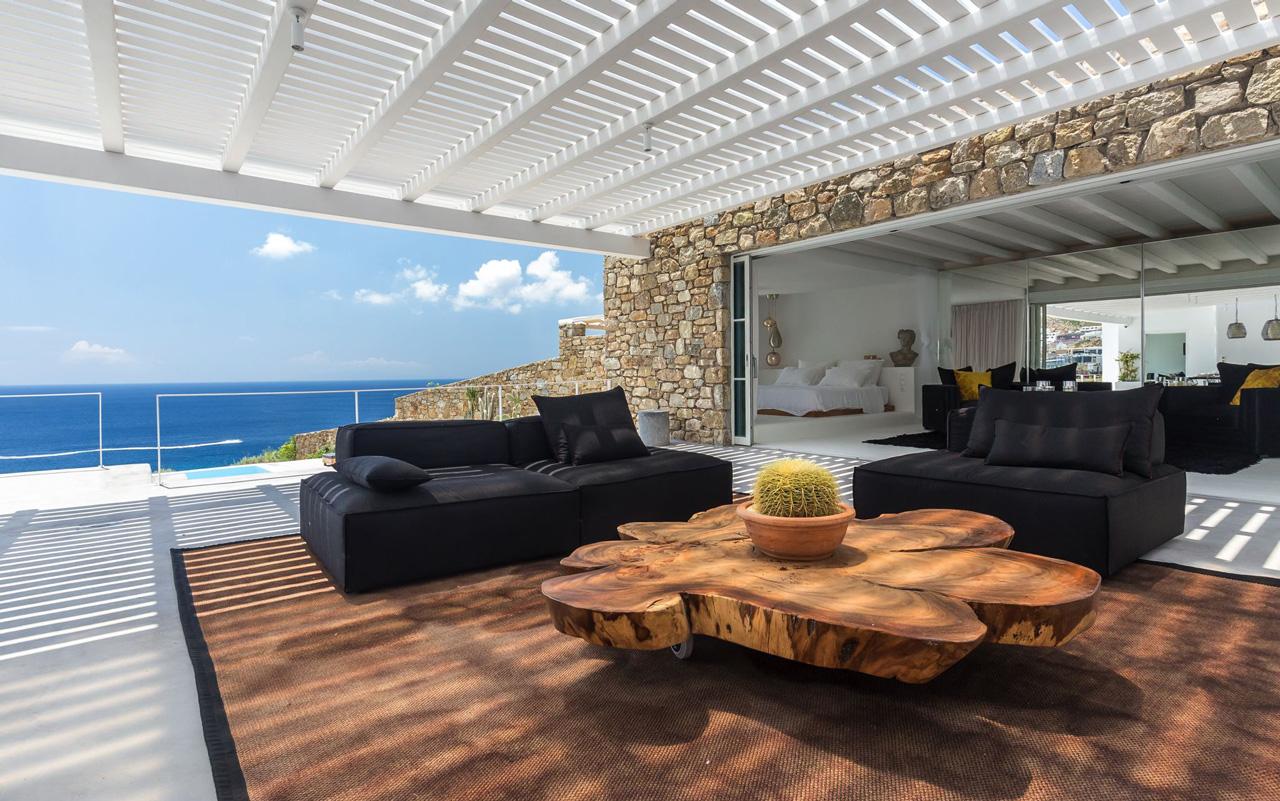 Villa Nouvelle, Elia Beach, Mykonos, Greece