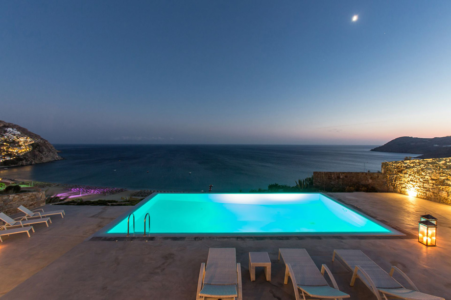 Villa for rent in Elia Beach, Mykonos