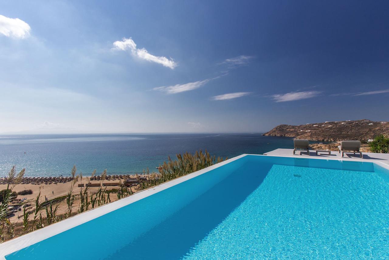 Villa Oleandri, Elia Beach, Mykonos, Greece