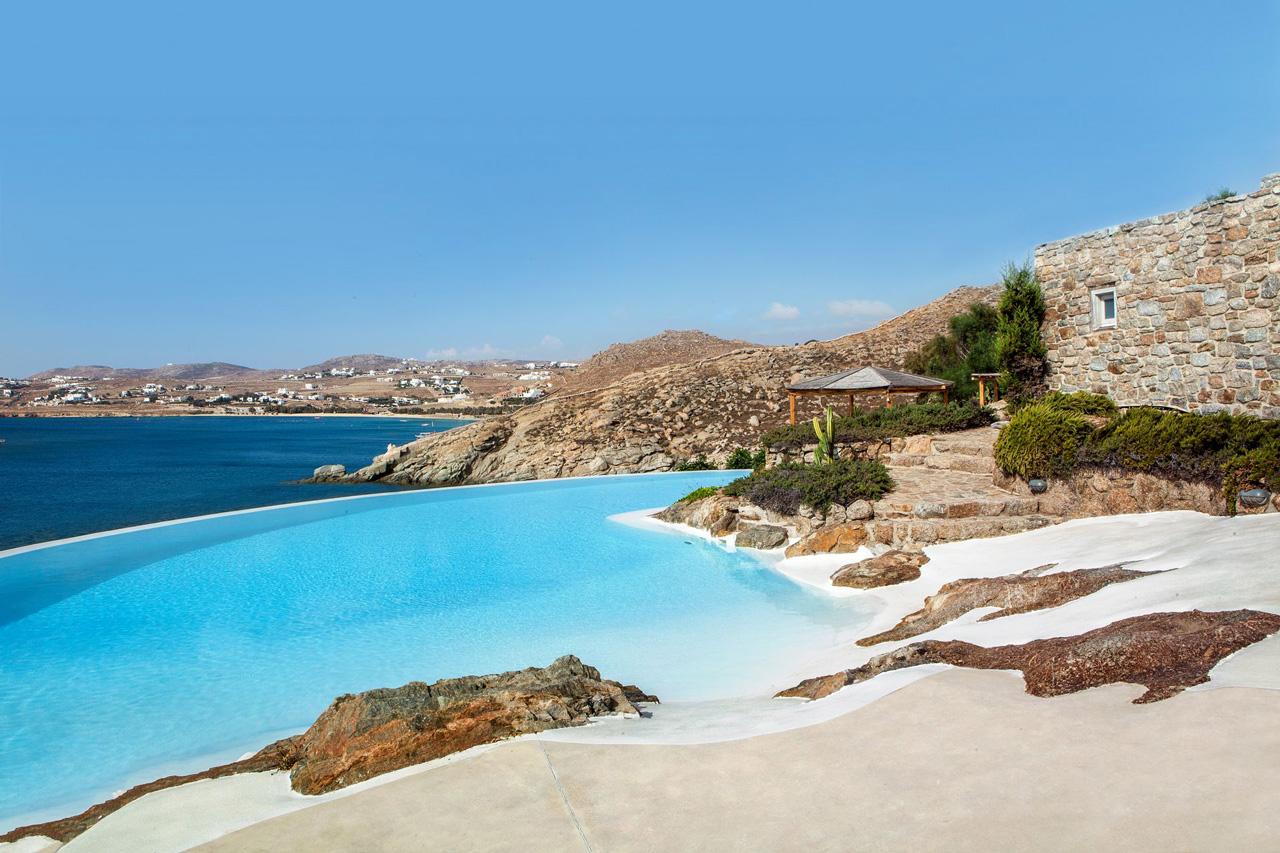 Villa Aegean Oasis, Plage Lia, Mykonos, Grèce