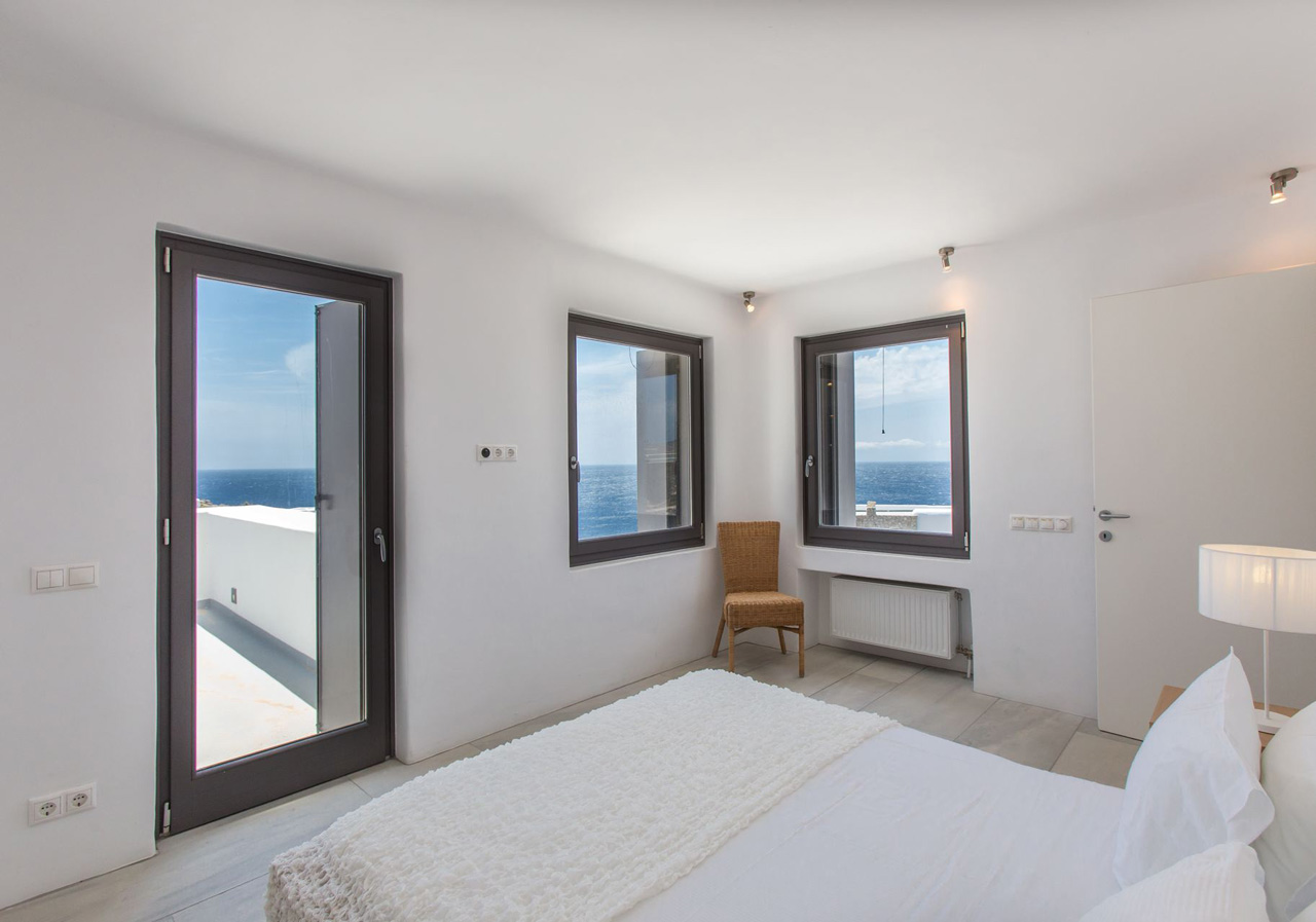 Villa White Rock One, Lia Beach, Mykonos, Greece