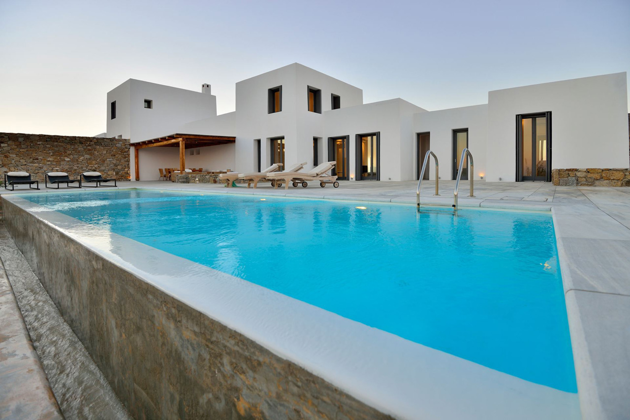 Villa White Rock One Mykonos Greece Luxury Vacations Casol