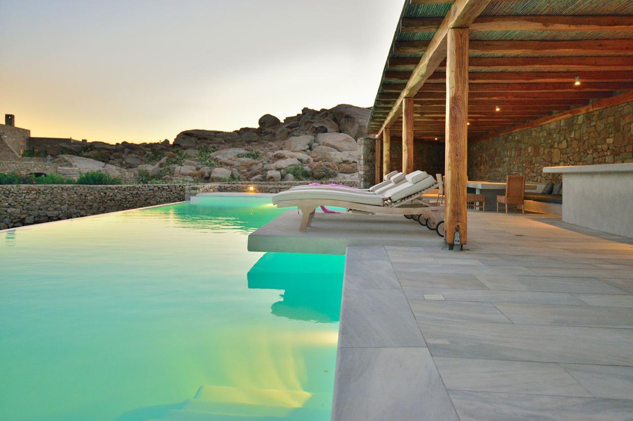 Villa White Rock One, Lia Beach, Mykonos, Greece