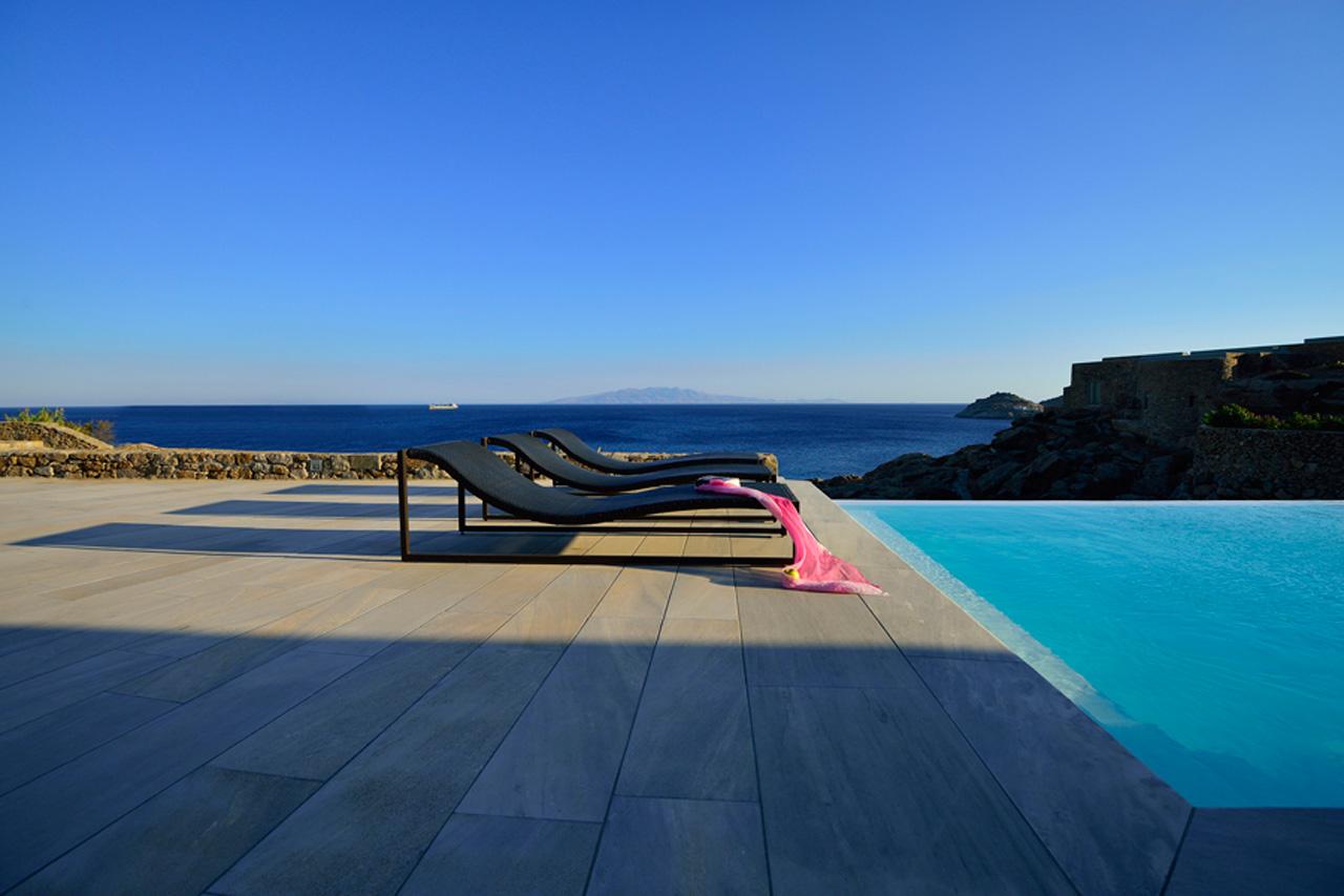 Villa White Rock Two, Lia Beach, Mykonos, Greece