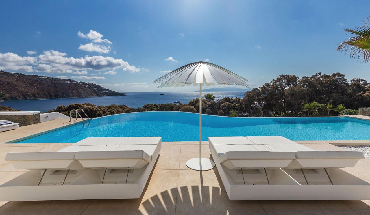 Villa Palmera, Ornos Beach, Mykonos, Greece