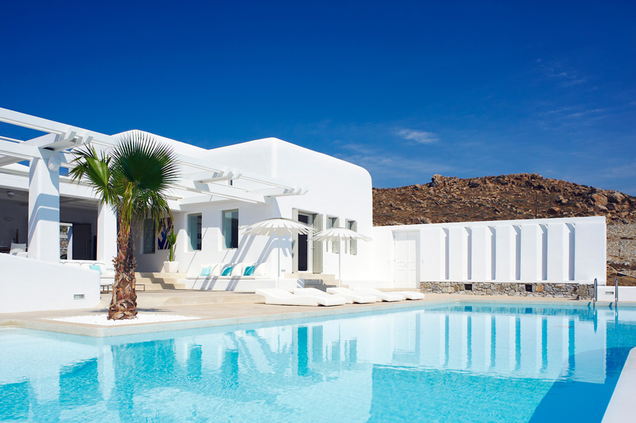 Villa for rent in Lia Beach, Mykonos