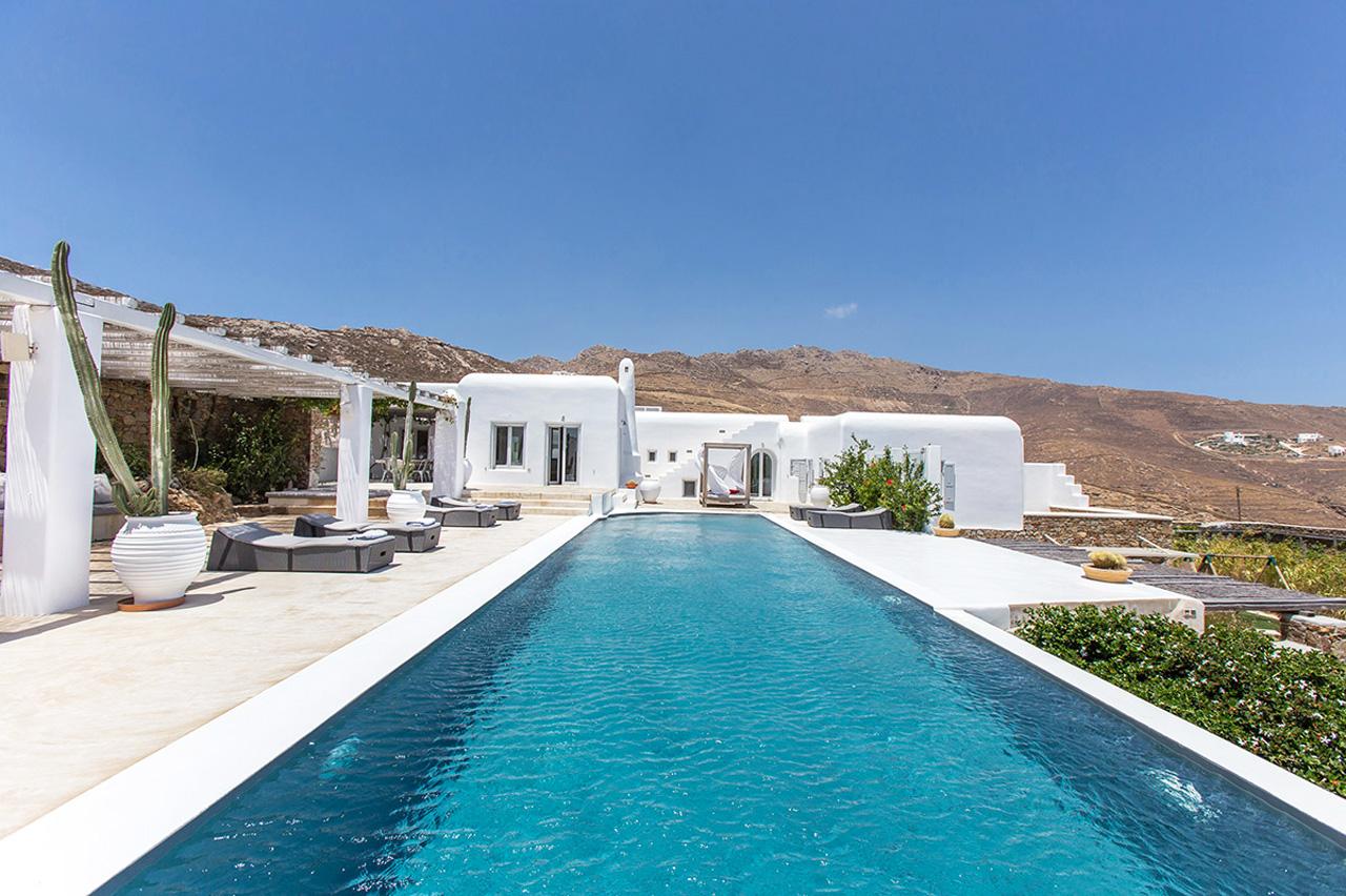 Panormos Beach Mykonos Villas For Rent Greece Casol
