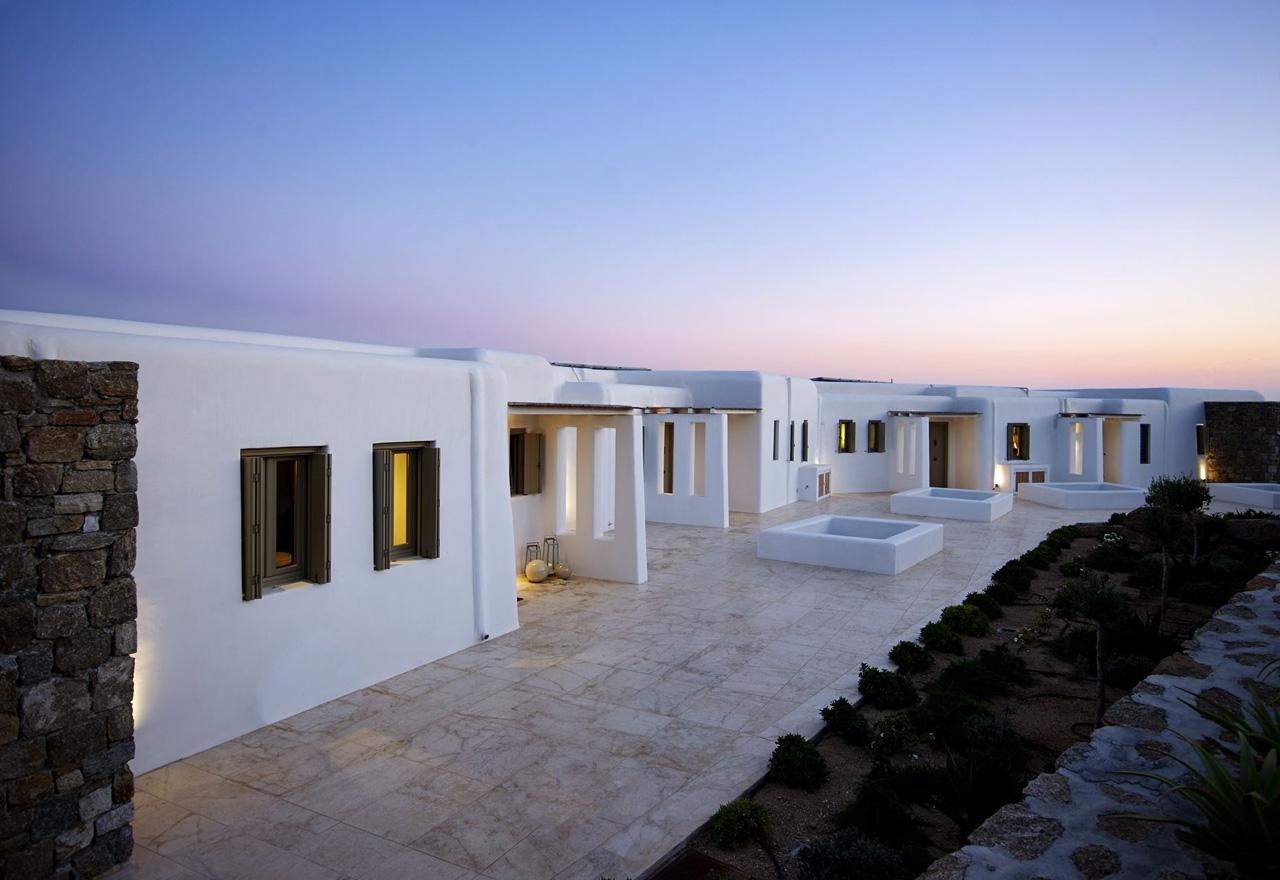 Villa Arya, Paradise Beach, Mykonos, Grèce