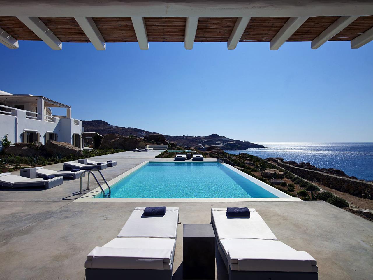 Villa Talyssa, Paradise Beach, Mykonos, Grèce