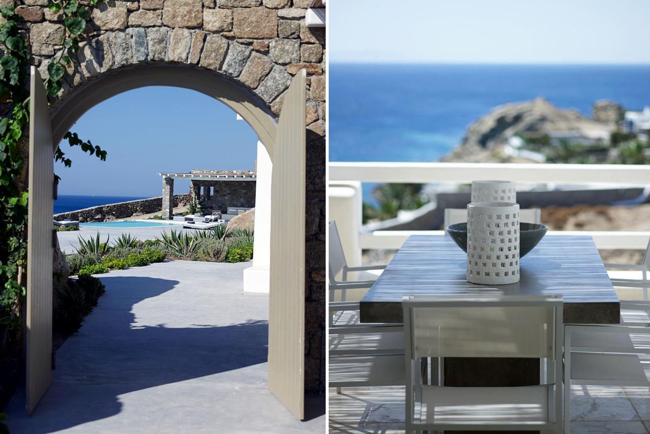 Villa Talyssa, Paradise Beach, Mykonos, Greece