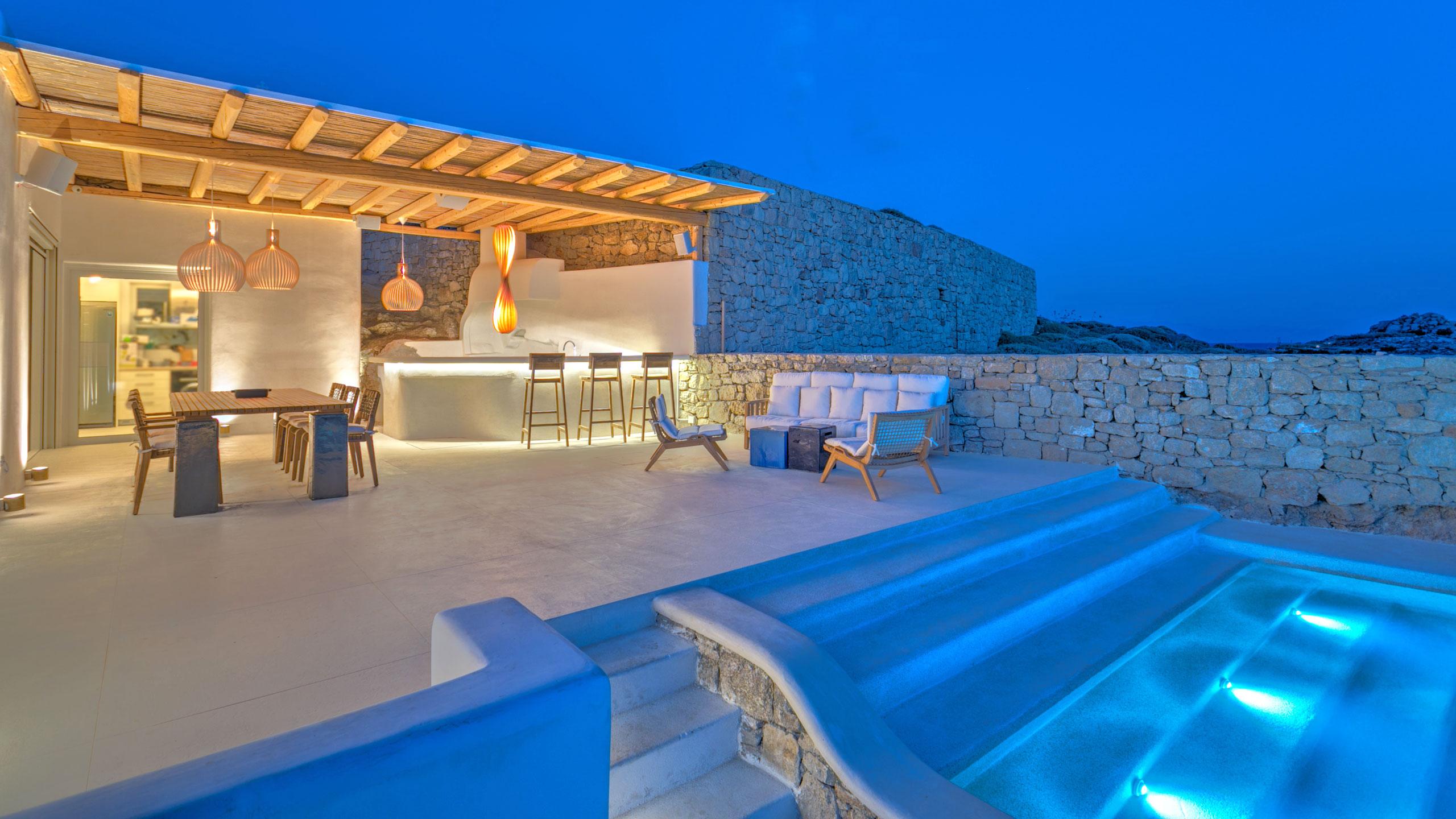 Villa Artemide, Platis Gialos Beach, Mykonos, Grèce