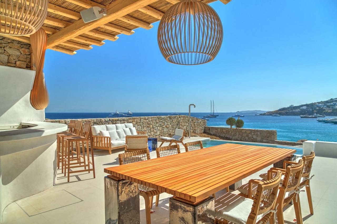 Villa Artemide, Platis Gialos Beach, Mykonos, Greece