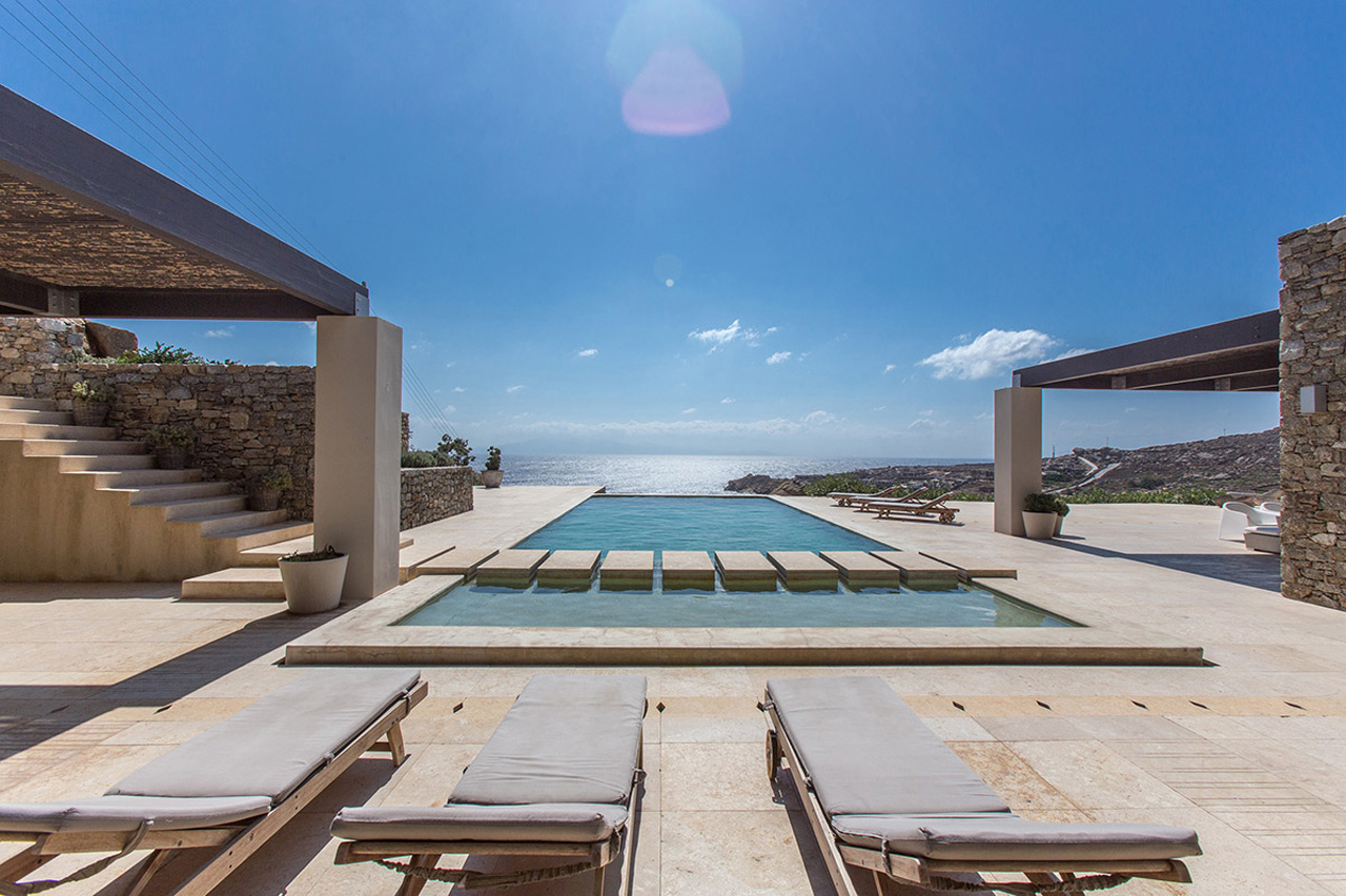 Villa Honde, Super Paradise Beach, Mykonos, Greece