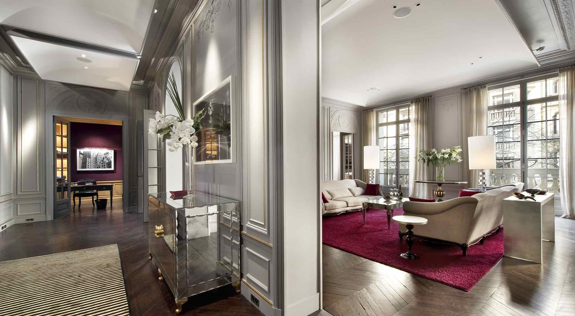 Paris luxury apartment for rent 16th casol villas france for Hotel luxe france