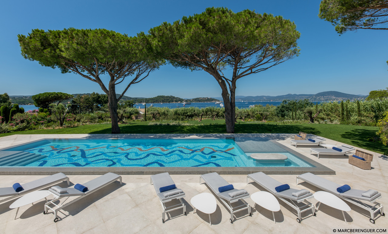 Villa Canoubwest, Saint-Tropez, French Riviera, France