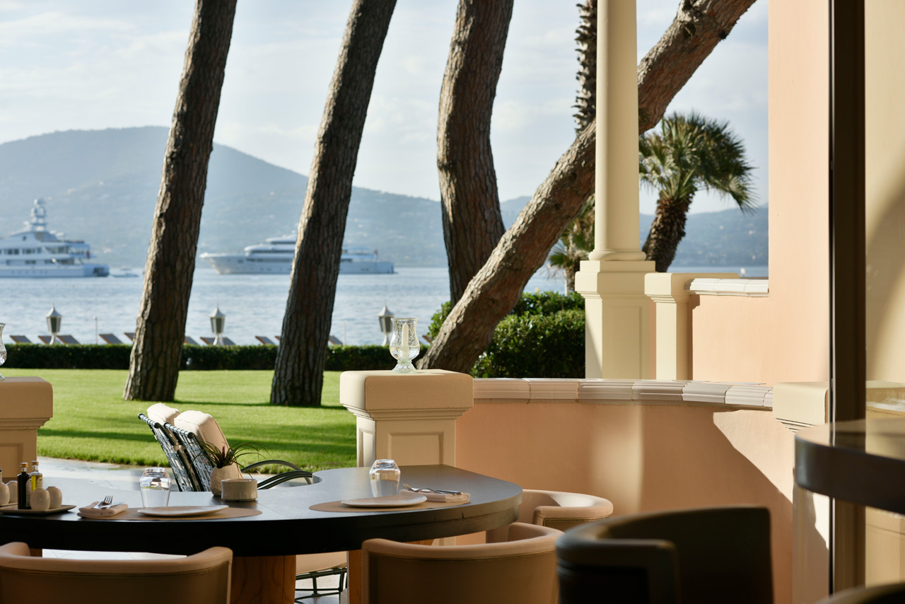 Luxury Hotel Cheval Blanc St-Tropez, French Riviera, France