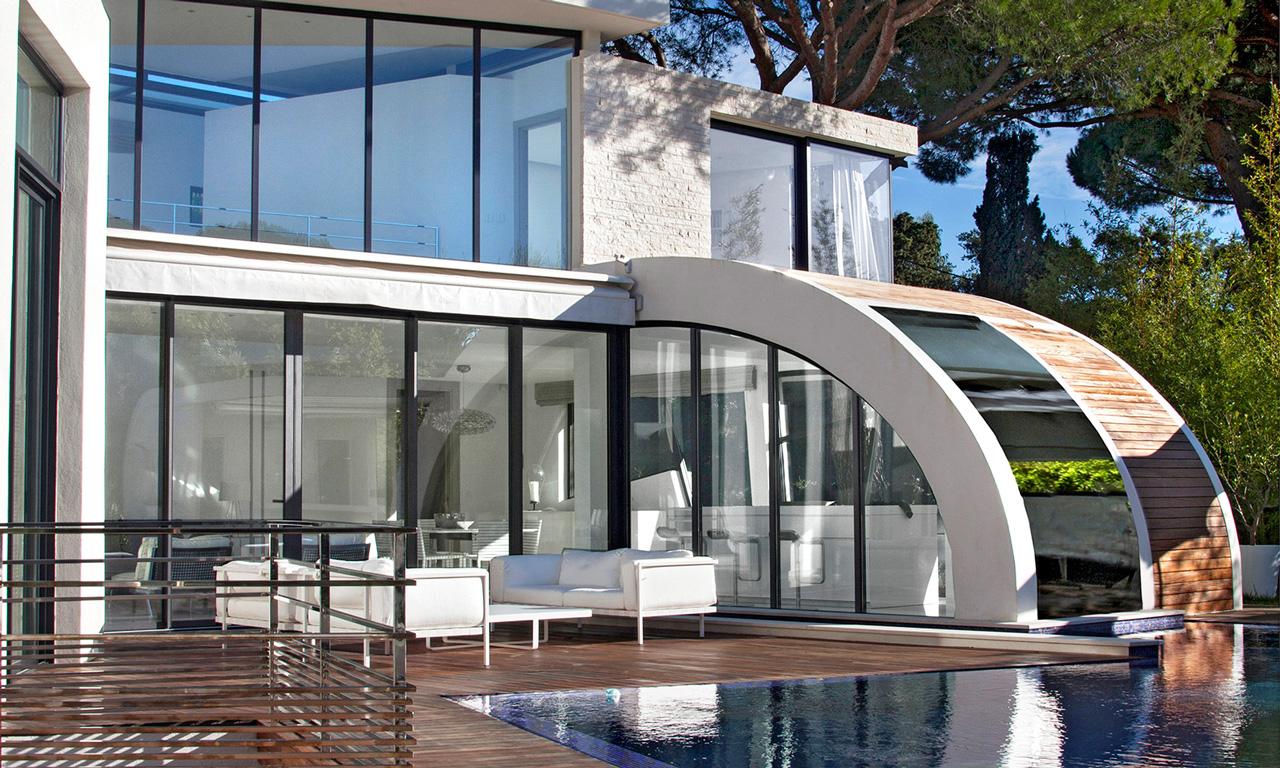 Villa Pampelonne, Saint-Tropez, French Riviera, France
