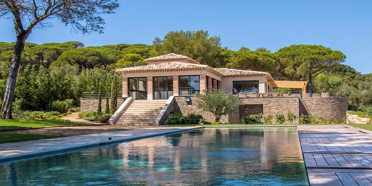 Villa Vanades, Saint-Tropez, French Riviera, France