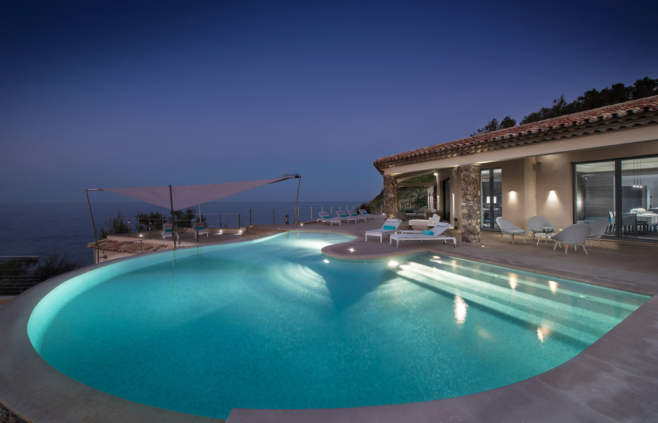 Villa Water's Edge, Saint-Tropez, French Riviera, France