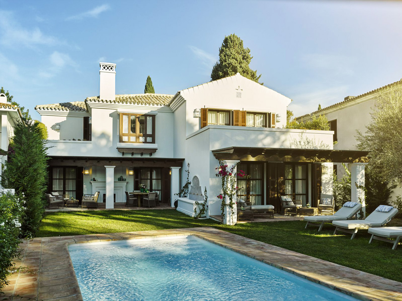 Villa El Cortijo, Marbella Club, Spain