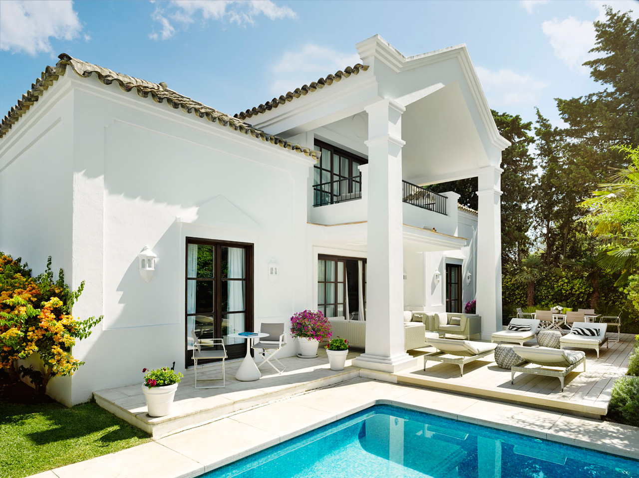 Three Bedrooms Villa, Marbella, Spain