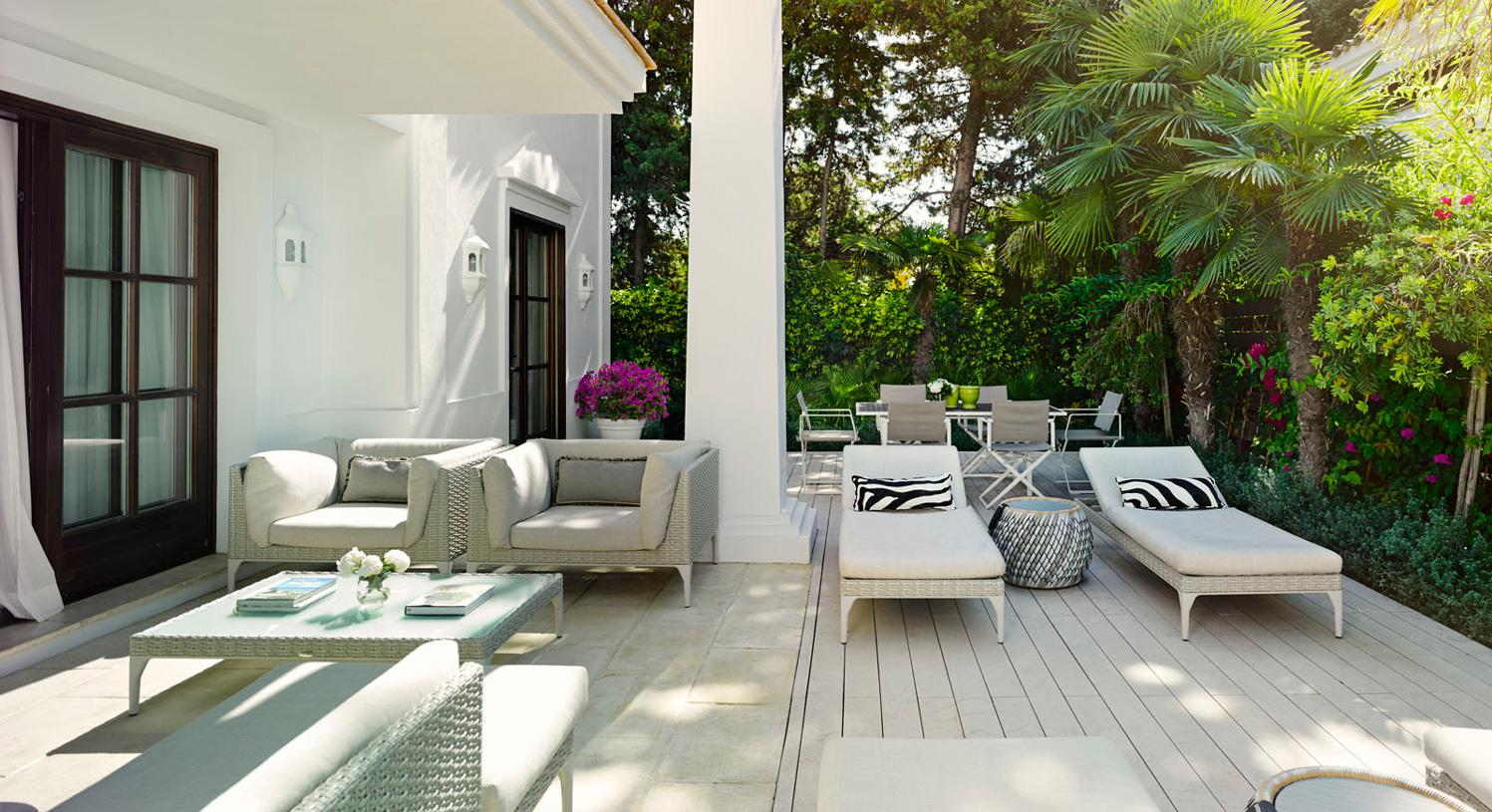 Three Bedrooms Villa, Marbella, Spain