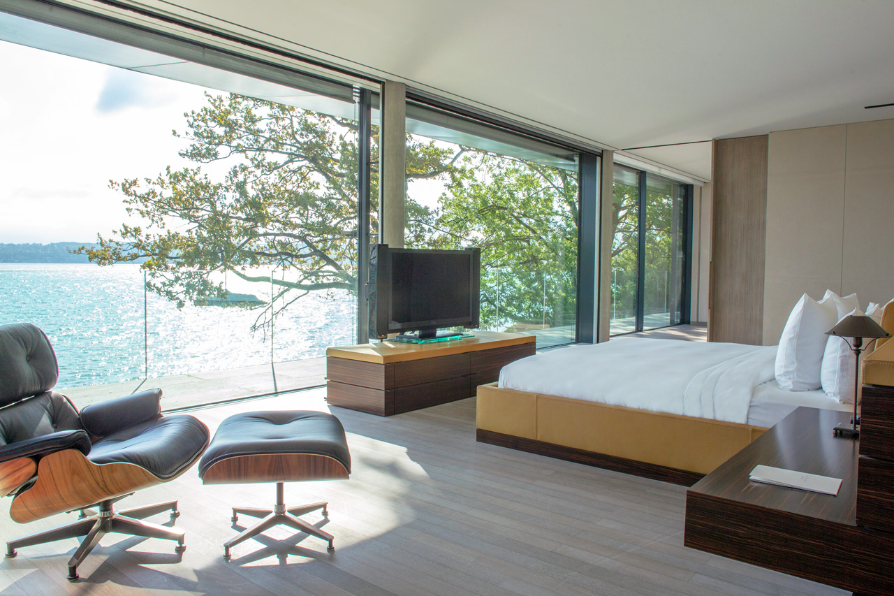 Villa du Lac, Genève, Suisse, Casol