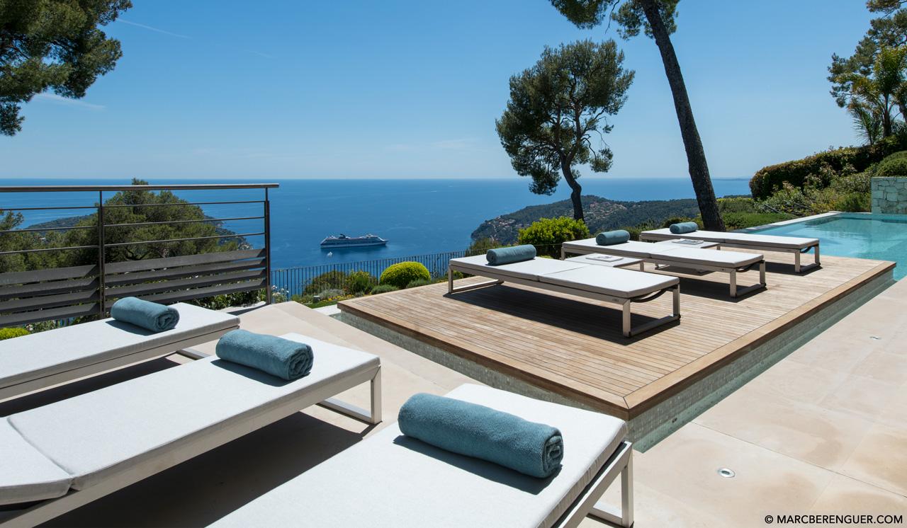 Villa Bayview, Villefranche sur Mer, Côte d'Azur, France