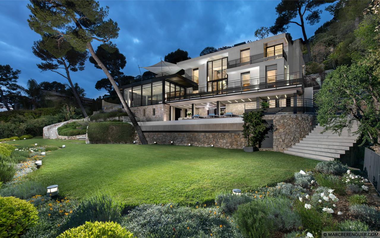 Villa Bayview, Villefranche sur Mer, French Riviera, France